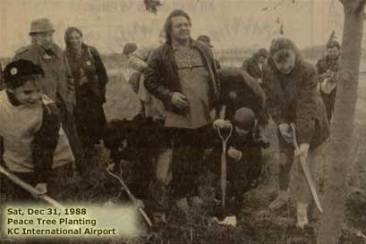 1988 Tree Planting, Kansas City