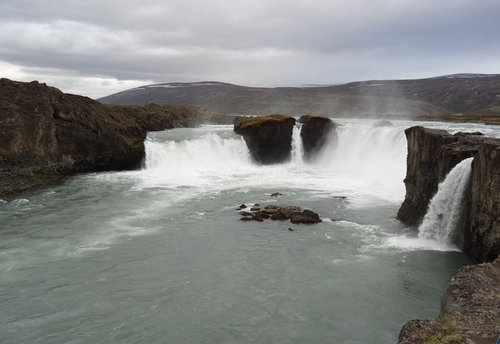 Plenty of water in a tundra landscape...northern Iceland, near Akeurery...excellent fishing!