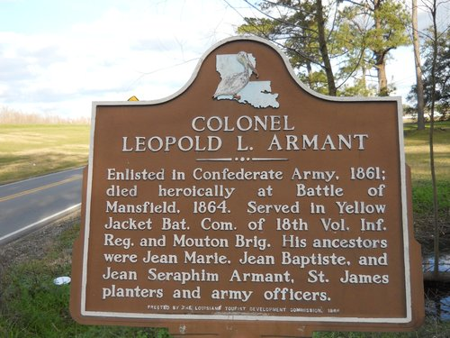 Colonel Leopold L Armant sign.jpg